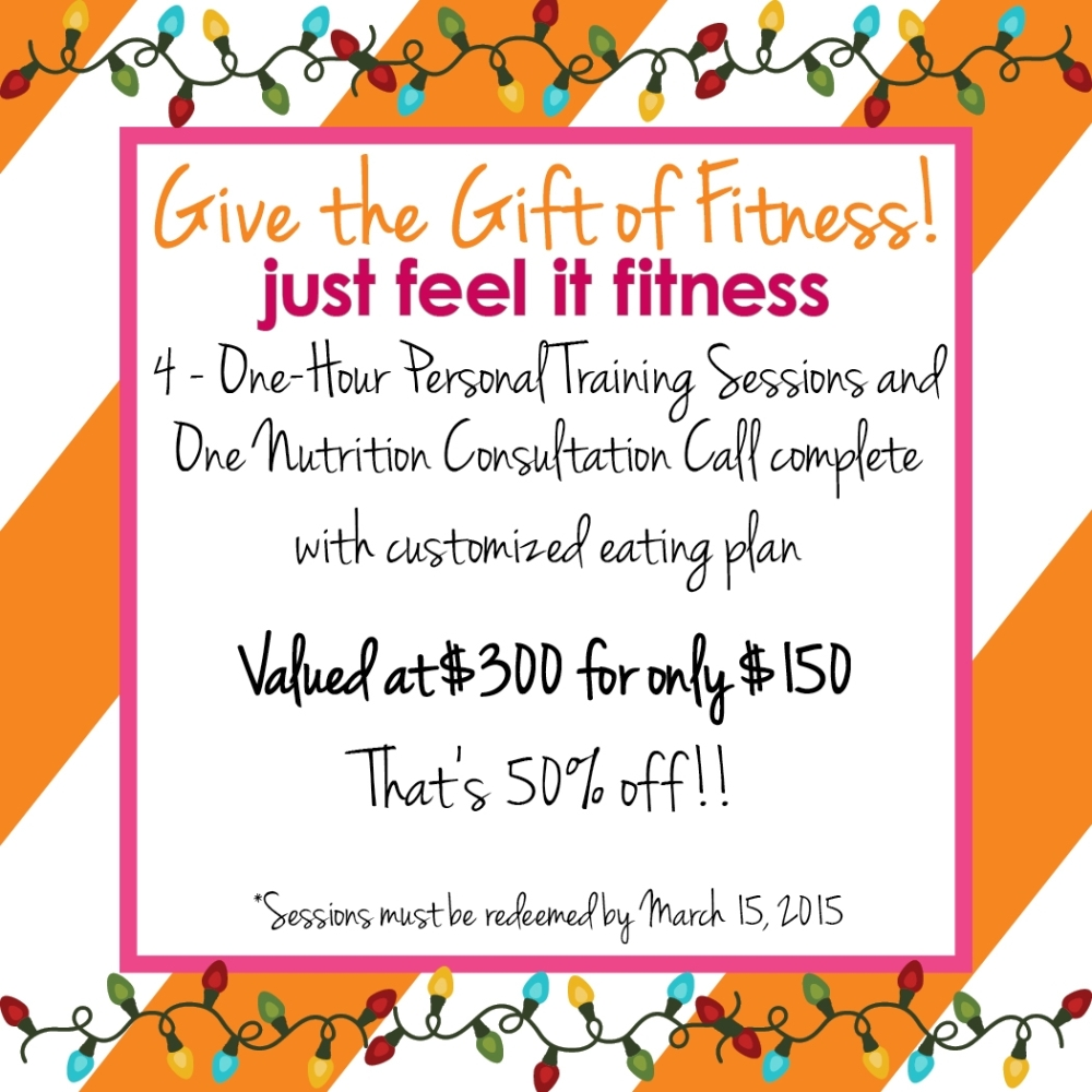 Gift of Fitness Promotion