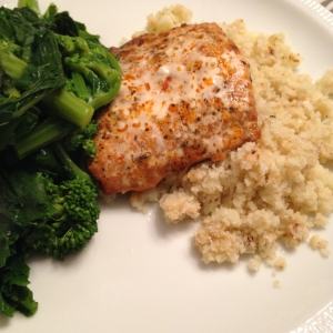 cauliflower rice plate