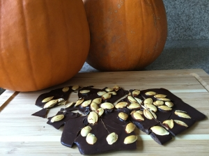 Pumpkin Chocolate bark