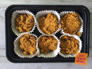 Pumpkin Oat Breakfast Cups